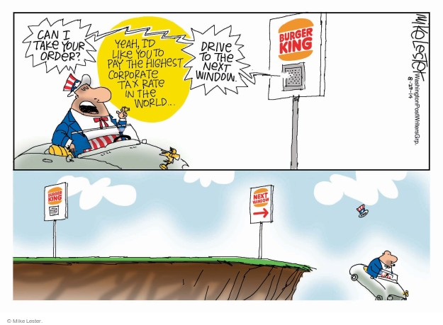 Cartoonist Mike Lester  Mike Lester's Editorial Cartoons 2014-08-29 yeah