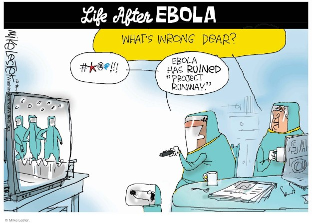 Mike Lester  Mike Lester's Editorial Cartoons 2014-10-16 infect