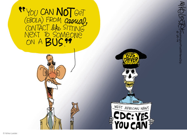 Mike Lester  Mike Lester's Editorial Cartoons 2014-10-29 infect