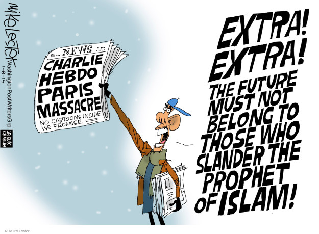Mike Lester  Mike Lester's Editorial Cartoons 2015-01-08 extremism