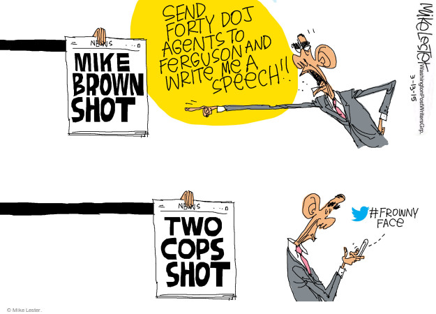 Cartoonist Mike Lester  Mike Lester's Editorial Cartoons 2015-03-13 department