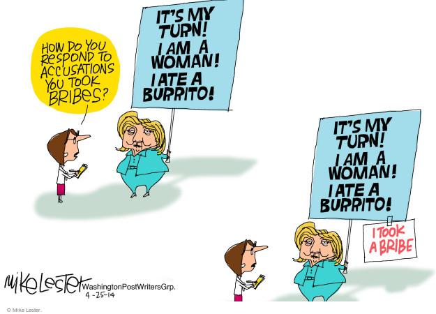 Cartoonist Mike Lester  Mike Lester's Editorial Cartoons 2015-04-25 uranium