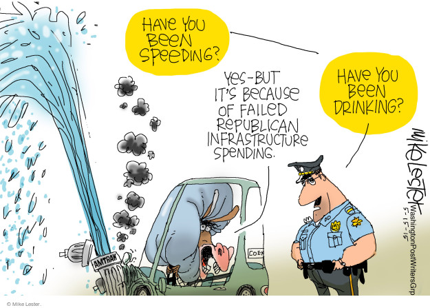 Mike Lester  Mike Lester's Editorial Cartoons 2015-05-15 infrastructure