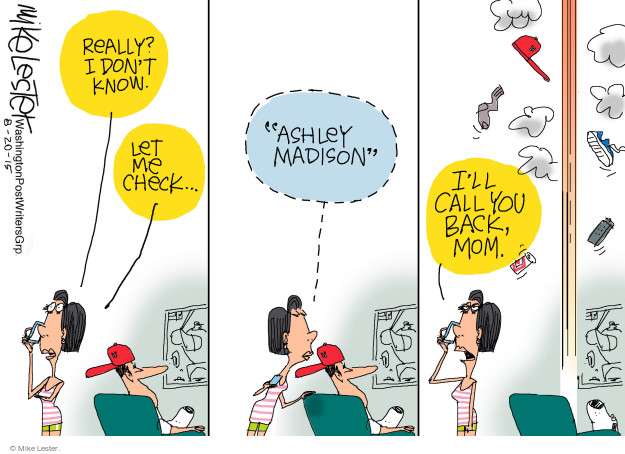 Cartoonist Mike Lester  Mike Lester's Editorial Cartoons 2015-08-20 wife