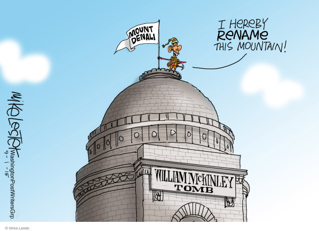 Mike Lester  Mike Lester's Editorial Cartoons 2015-09-01 former president