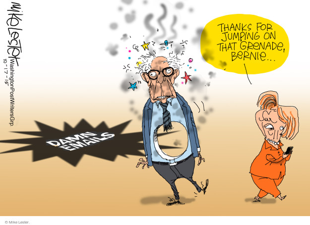 Mike Lester  Mike Lester's Editorial Cartoons 2015-10-17 presidential