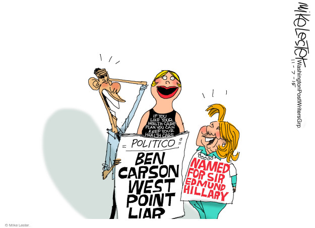 Mike Lester  Mike Lester's Editorial Cartoons 2015-11-07 presidential