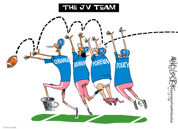 The JV Team. Obama. Admin. Foreign. Policy.