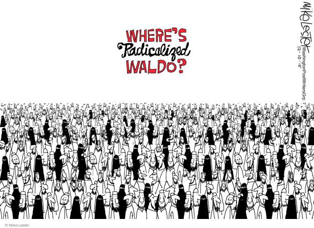 Wheres radicalized Waldo?
