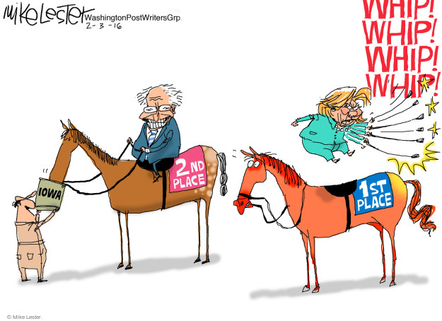 Mike Lester  Mike Lester's Editorial Cartoons 2016-02-03 presidential