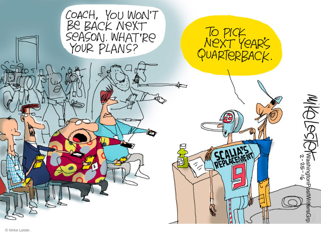 Cartoonist Mike Lester  Mike Lester's Editorial Cartoons 2016-02-25 replacement