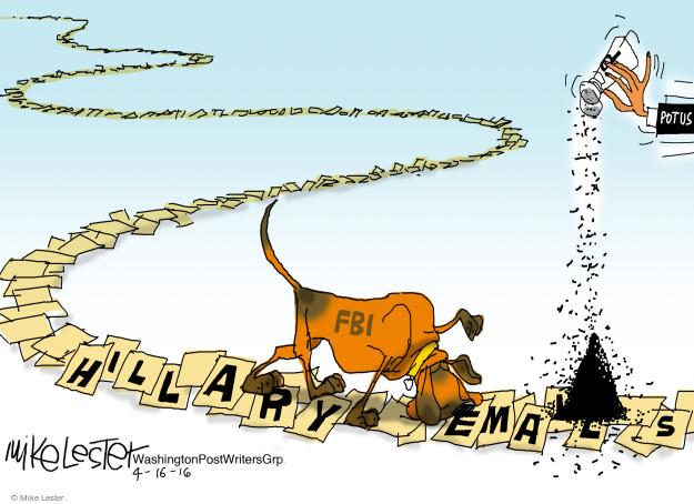 Cartoonist Mike Lester  Mike Lester's Editorial Cartoons 2016-04-16 Barack Obama