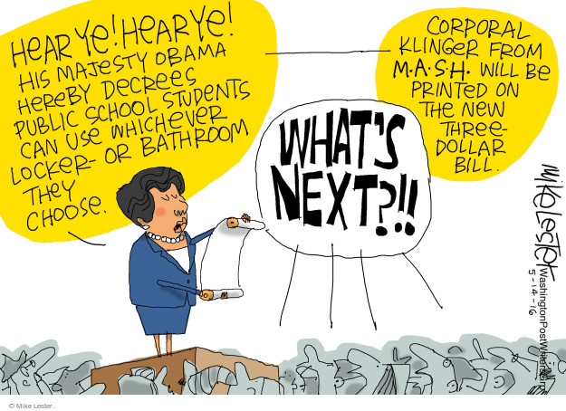 Mike Lester  Mike Lester's Editorial Cartoons 2016-05-14 television program