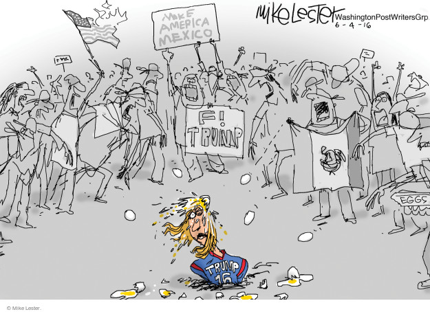 Cartoonist Mike Lester  Mike Lester's Editorial Cartoons 2016-06-04 supporter