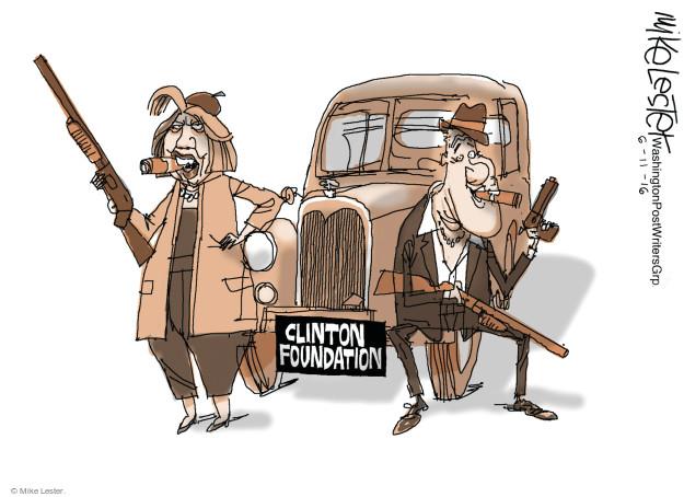 Mike Lester  Mike Lester's Editorial Cartoons 2016-06-11 former president