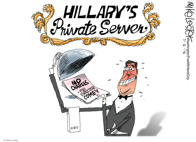 Mike Lester  Mike Lester's Editorial Cartoons 2016-07-06 IRS