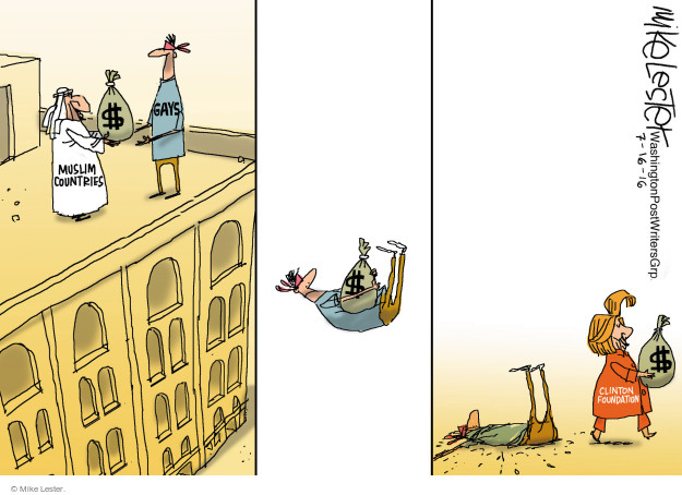 Mike Lester  Mike Lester's Editorial Cartoons 2016-07-16 Muslim