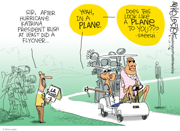 Cartoonist Mike Lester  Mike Lester's Editorial Cartoons 2016-08-19 vacation
