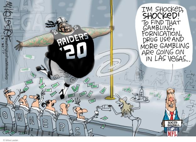 Cartoonist Mike Lester  Mike Lester's Editorial Cartoons 2017-03-30 Las Vegas