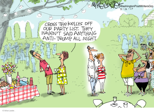 Mike Lester  Mike Lester's Editorial Cartoons 2017-05-12 administration