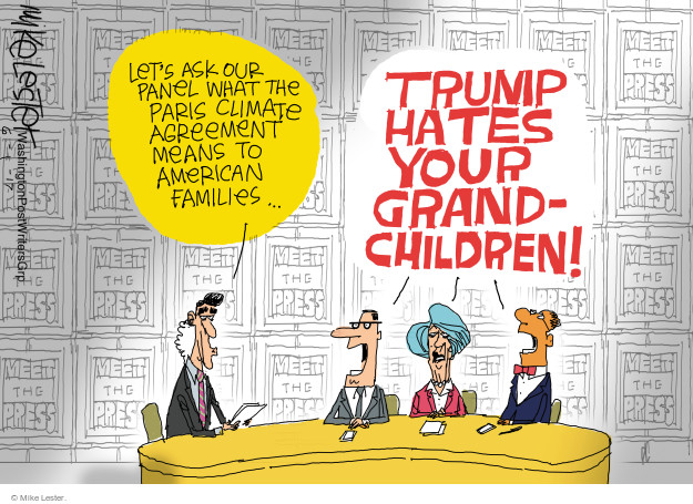 Cartoonist Mike Lester  Mike Lester's Editorial Cartoons 2017-06-01 agreement