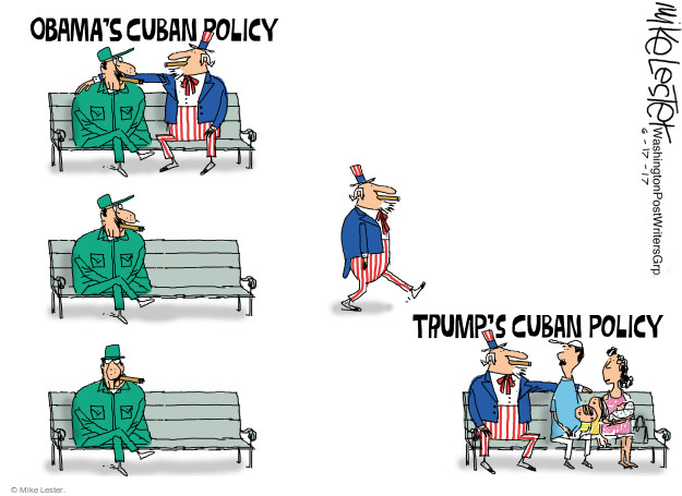 Obamas Cuban Policy. Trumps Cuban Policy.