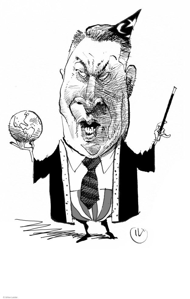 Mike Lester  Mike Lester's Editorial Cartoons 2017-08-04 Al Gore