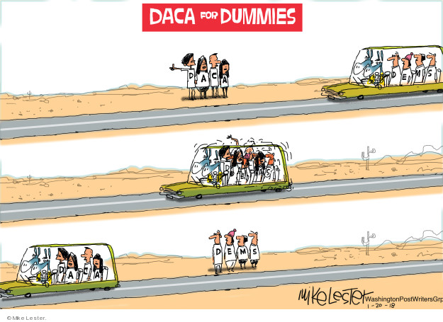 DACA for Dummies. Dems.