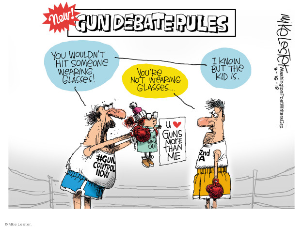 Mike Lester  Mike Lester's Editorial Cartoons 2018-03-16 boxing