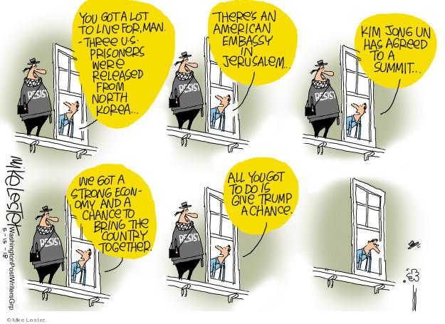 Mike Lester  Mike Lester's Editorial Cartoons 2018-05-15 Jerusalem