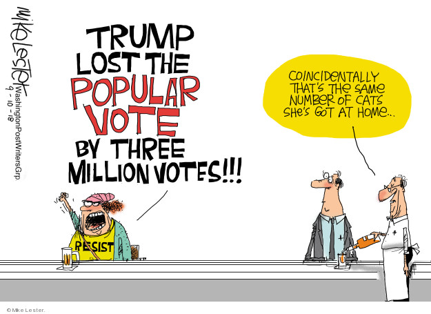 Mike Lester  Mike Lester's Editorial Cartoons 2018-09-10 presidential