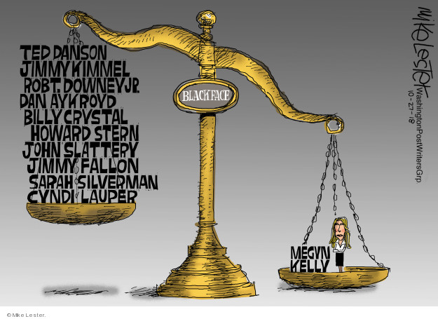 Cartoonist Mike Lester  Mike Lester's Editorial Cartoons 2018-10-27 Jimmy