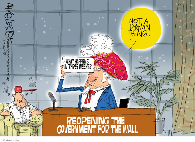 Mike Lester  Mike Lester's Editorial Cartoons 2019-01-26 government