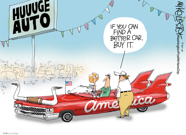 Mike Lester  Mike Lester's Editorial Cartoons 2019-07-27 auto