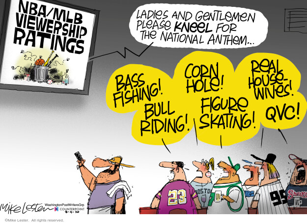Mike Lester  Mike Lester's Editorial Cartoons 2020-08-04 sport