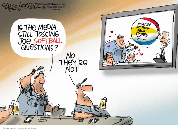 Mike Lester  Mike Lester's Editorial Cartoons 2020-09-05 news media