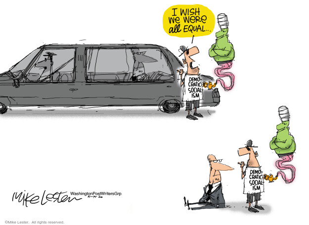 Mike Lester  Mike Lester's Editorial Cartoons 2020-10-19 Mike