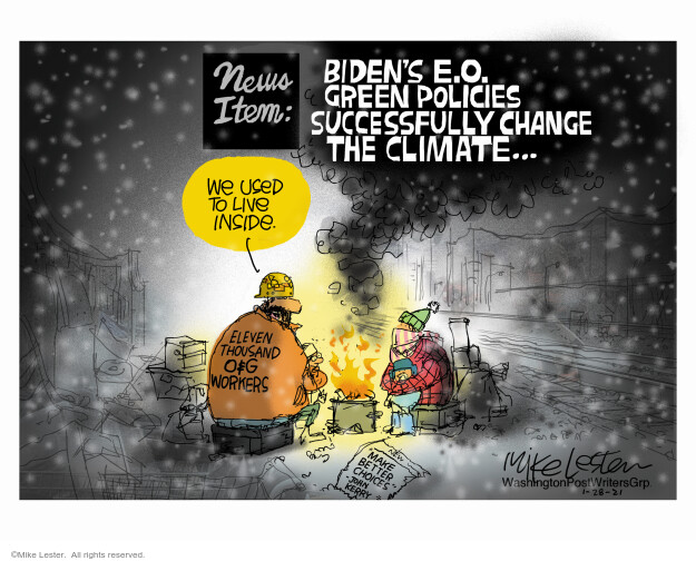 Mike Lester  Mike Lester's Editorial Cartoons 2021-01-28 energy