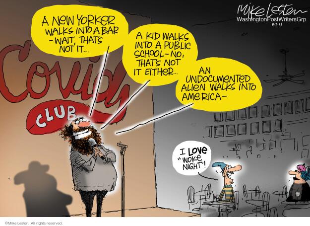 Mike Lester  Mike Lester's Editorial Cartoons 2021-03-03 coronavirus