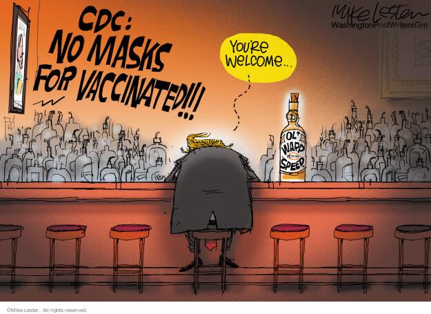Mike Lester  Mike Lester's Editorial Cartoons 2021-05-14 former president