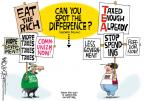 Cartoonist Mike Lester  Mike Lester's Editorial Cartoons 2011-10-07 occupy protest