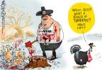 Cartoonist Mike Lester  Mike Lester's Editorial Cartoons 2011-11-19 holiday