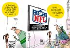 Cartoonist Mike Lester  Mike Lester's Editorial Cartoons 2012-01-15 league