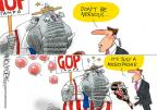 Cartoonist Mike Lester  Mike Lester's Editorial Cartoons 2012-08-30 2012 political convention