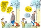 Cartoonist Mike Lester  Mike Lester's Editorial Cartoons 2013-05-02 gun violence