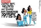 Cartoonist Mike Lester  Mike Lester's Editorial Cartoons 2013-07-11 protester