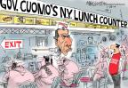Cartoonist Mike Lester  Mike Lester's Editorial Cartoons 2014-01-24 New York