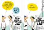 Cartoonist Mike Lester  Mike Lester's Editorial Cartoons 2014-04-25 concealed gun