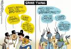 Cartoonist Mike Lester  Mike Lester's Editorial Cartoons 2014-06-13 baseball fan