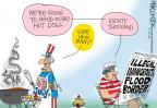 Cartoonist Mike Lester  Mike Lester's Editorial Cartoons 2014-07-03 hot